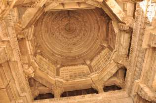 Lotus flower curved roof of the mosque